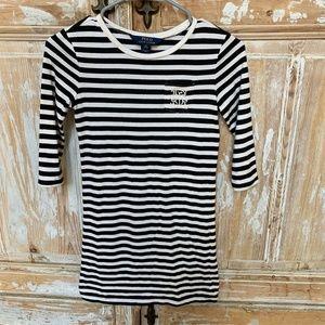 Polo Ralph Lauren Signature Black/White Dress